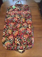 f8163b513c3d Vera Bradley Puccini Garment Bag Soft Hanging Luggage Retired RARE NWT