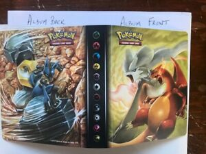 Pokemon SUN & MOON UNBROKEN BONDS with CHARIZARD art Mini album binder + PACK