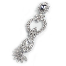 Burberry Runway Collection Luxurious Crystal Lapel Pin Brooch