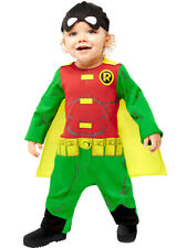 Bambine Nero Supereroe Super Eroe Fumetto Settimana Costume Vestito