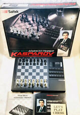 Working Vintage Saitek Team Mate Advanced Trainer, Electronic Chess, Kasparov