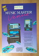 Bell Fruit Music Master Venue CD Jukebox Sales Brochure / Flyer / Pamphlet
