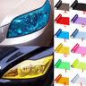 Car Smoke Fog Light Lamp Headlight Taillight Tint Vinyl Film Sheet Sticker Decro