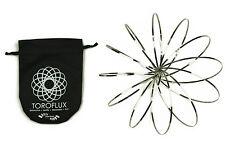 Toroflux - Kinetic Spring Toy, New, Flow Rings