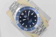 Tag Heuer WAB2011.BA0801 AUTOMATIC Aquaracer Watch Mens Blue Mint Crystal Case