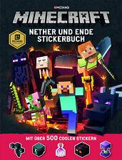 Minecraft, Nether und Ende - Stickerbuch | Josef Shanel |  9783505141317