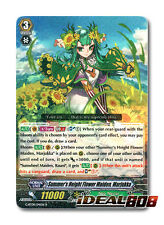 Cardfight Vanguard  x 4 Summer's Height Flower Maiden, Marjukka - G-BT08/041EN -