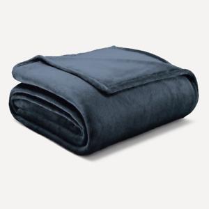Luxury Flannel Blanket Soft Warm Reversible Fleece Blanket Throw Queen-King Size