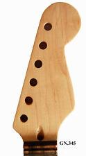 Antonio - Dot Inlay Handmade-Solid Wood Maple Electric Scalloped Guitar Neck 345