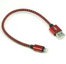 Short USB Data & Charging Cable for Apple CarPlay iPhone 11 12 Pro Mini Max SE