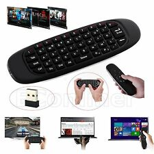2.4GHz Mini Air Mouse Wireless Keyboard Remote Gyroscope For PC Smart TV Android