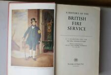 A HISTORY OF THE BRITISH FIRE SERVICE BY G V BLACKSTONE HARD BACK