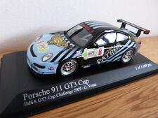 Porsche 911 997 GT3 Cup IMSA Challange 2009 Vento Minichamps Modellauto 1:43