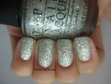 NEW! OPI Nail Polish Lacquer in SUPER STAR STATUS ~ Silver Gold Glitter