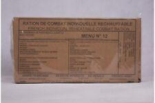 Ration de Combat Individuelle Réchauffable (RCIR) armée française - Menu n°12