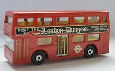 MATCHBOX SUPERKINGS K-15 THE LONDONER BUS London Dungeon