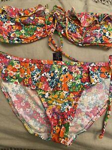 NEXT Size 12 Floral Bikini