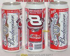 NASCAR BUD #8 DALE JR 2000 PINT BEER BUDWEISER SPORT TEXAS SPEEDWAY WINSTON CUP