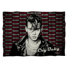 "Cry Baby ""Drapes And Squares"" Dye Sublimation Printed Pillow Case"