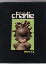 CHARLIE MENSUEL. Album n°2 - 1982. Très bel état, bien relié