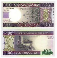 Mauritania 100 Ouguiya (2011) P-16 Unc Tyvek Banknote Paper Money