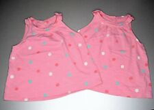 Twin Girls Mothercare Summer Top. 5-6 Years.