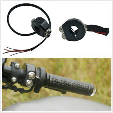 Motorcycle Handle Reset Buttons Self Latching Switch Reverse Polarity Protection