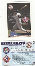 Ted Williams Boston Red Sox Tunnel Card Topps 1996 MT