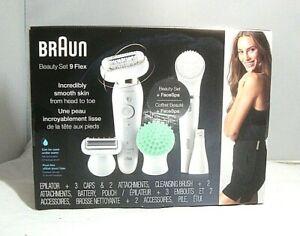 Braun Epilator Silk-épil 9 Flex 9-300 Beauty Set ( Sealed )