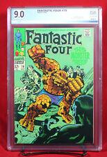 FANTASTIC FOUR #79 (Marvel 1968) PGX 9.0 VF/NM Very Fine/Near Mint - HTF!!!
