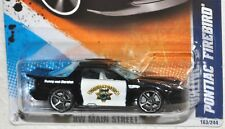 Hot Wheels 2011 #163 HW Main Street #3 Pontiac Firebird Double Highway Patrol