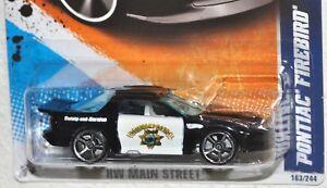 Hot Wheels 2011 #163 HW Main Street #3 Pontiac Firebird Double Highway Patrol