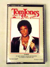 Tom Jones Love is on the Radio Cassette Tape Audio Pop Mercury Records 1984