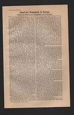 Lithografie 1909: Stand des Rennsports in Europa. Wetten bei Pferderennen Buchma