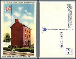 VIRGINIA Postcard - Alexandria - Alexandria Academy, Endowed School O17