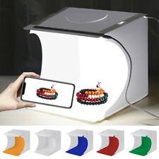Photo Studio Photography Lighting Tent Light Room Cube Mini Box w/6Pcs Backdrop^
