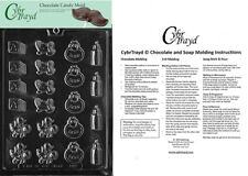 Baby Decos Chocolate Candy Mold In Sealed Poly Bag w/Instructions