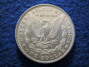 1896 Morgan Silver Dollar - Lustrous Choice AU/BU    Read