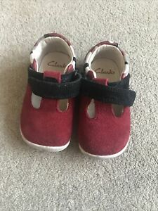 Clarks 3G Red Shoes
