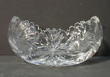 Crystal Bowl in ship shape around 1930/4415
