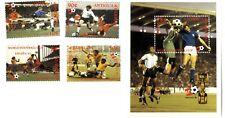 Sellos Futbol España 1982 World Footbal Cup stamps Antigua Barbuda Mundial