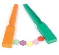 Magnetic Wand - 2 Wands - Durable, Strong Magnets, Great Educational Tool