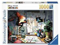 Ravensburger Disney Pixar The Artist's Desk 1000 Piece Jigsaw Puzzle (Brand New)