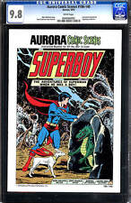 Aurora Comic Scenes - Superboy #186-140 CGC 9.8 1974 model kit DC E6 492 1 cm