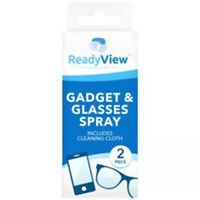 2New Optical Glasses Lens Cleaner and Cloth 50ml Spray Bottle Camera Lens Wipes