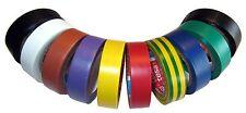 tesa Ruban isolant 4252 Kfz Coloré 15mm x 10m 10 Set 5000V ISO bande adhésive