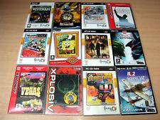PC CD Rom - 12 Games/Kingpin/Quake II/Bomberman/Theme Park World/Spongebob