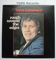MAX D BARNES - Rough Around The Edges - Excellent Con LP Record Ovation OV 1749