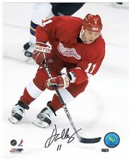 DAN CLEARY DETROIT RED WINGS SIGNED PHOTO w/ COA