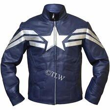 Captain America: The Winter Soldier New Avenger Chris Evans FAUX Leather Jacket